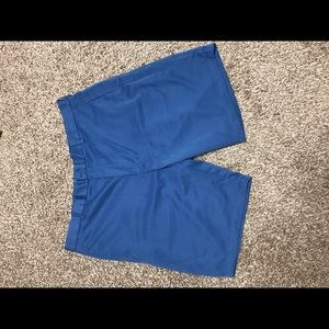 Men's Blue Perry Ellis Portfolio Shorts